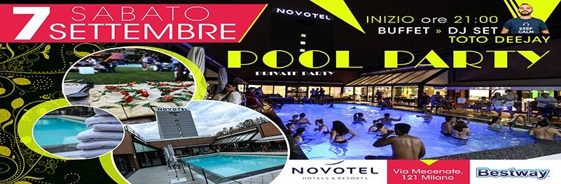 sabato 7 settembre festa in piscina milano