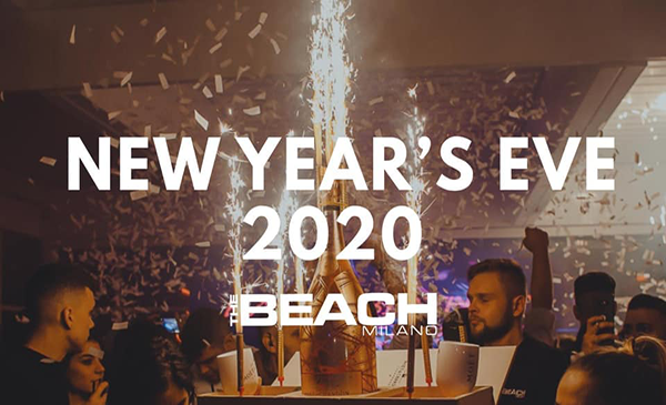 capodanno 2020 the beach milano