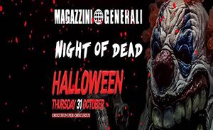 halloween magazzini generali 2019