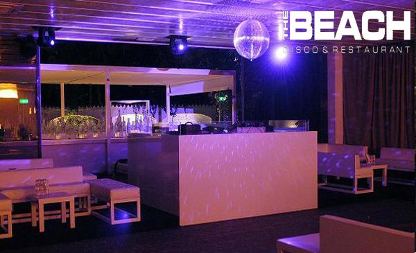 Discoteca the Beach Milano: aperitivo e ristorante