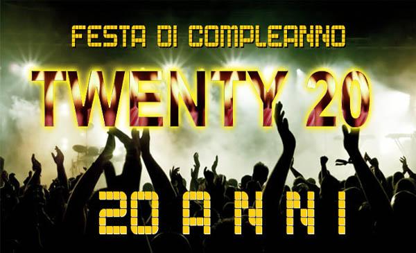 Molto Festa compleanno 20 anni Milano: organizza il ventesimo compleanno  WQ76