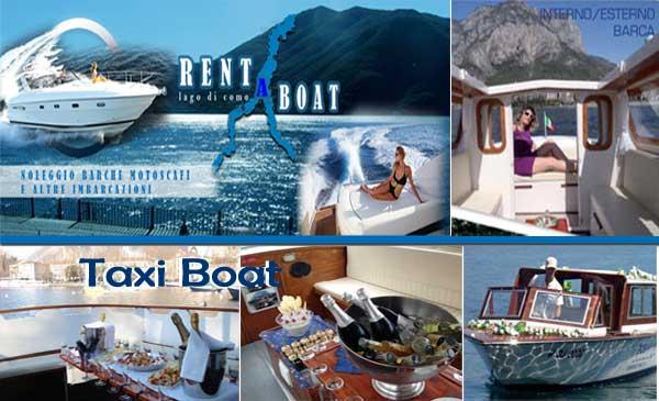 Feste in Barca Lago di Como e noleggio taxi boat