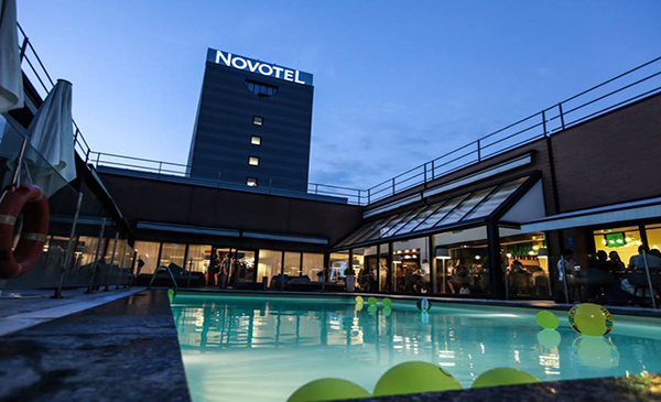 novotel linate location