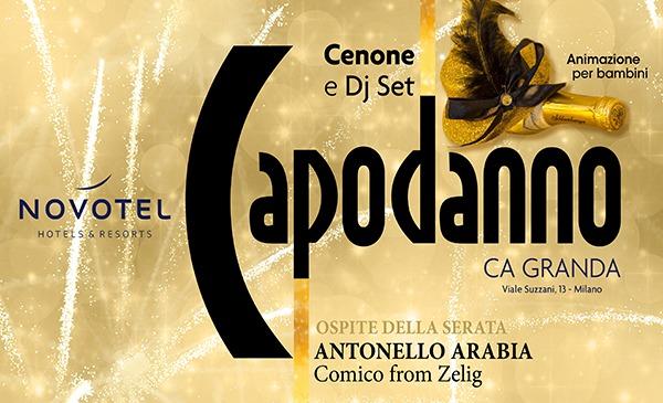 CAPODANNO 2021 Novotel Milano Ca Granda