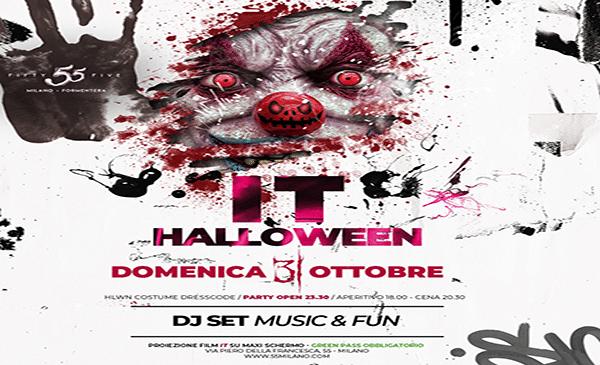 Halloween 2021 55 Milano: Cena, Aperitivo e Serata